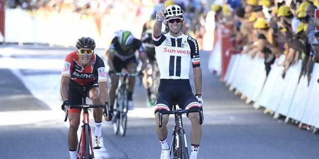 Matthews s'impose à Rodez et coiffe les Belges, Froome reprend le maillot jaune (VIDEO) - La Libre