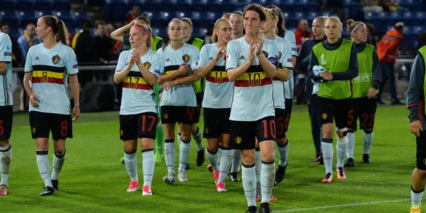 Euro de football féminin 2017: Surprises en début de match, les Red Flames s'inclinent contre le Danemark - La Libre