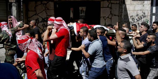 La tension ne cesse de monter entre palestiniens et policiers israéliens - La Libre