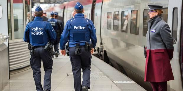 Menace terroriste: Les voyageurs internationaux contrôlés à Bruxelles-Midi - La Libre