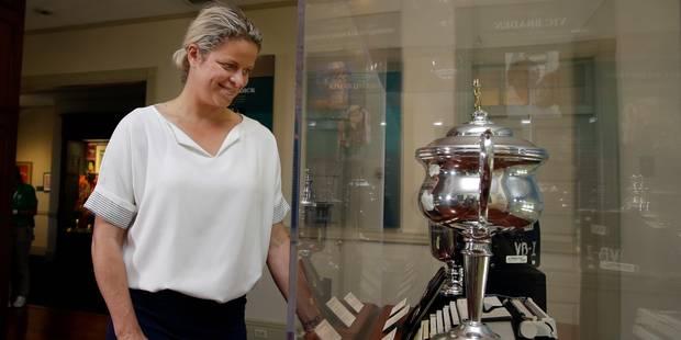 Kim Clijsters rejoint les plus grandes légendes du tennis au Hall of Fame - La Libre