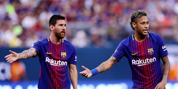 Entre Barcelone et le PSG, le coeur de Neymar balance - La Libre