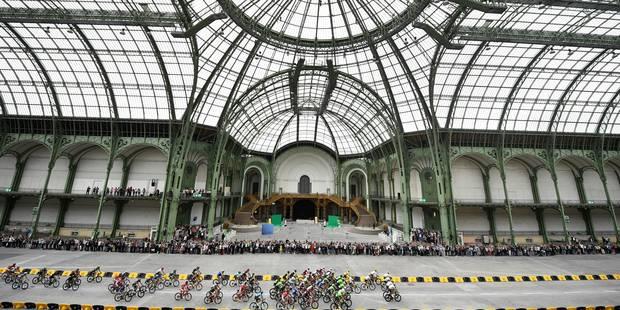 Pourquoi le Tour de France est-il passé par le Grand Palais ? - La Libre