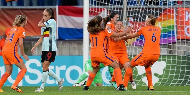 Le jeu incroyable de Tessa Wullaert n'a pas servi à faire gagner les Red Flames contre les Pays-Bas (1-2) - La Libre