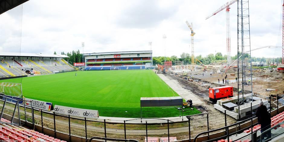 Le coup d'envoi d'Antwerp-Anderlecht se donnera sur ce chantier (VIDEO) - La Libre
