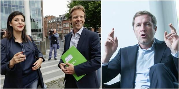 """Accord MR-cdH en Wallonie: """"médiocre"""" et """"sans ambition"""" pour le PS, """"beaucoup de flou"""" pour Ecolo - La Libre"""