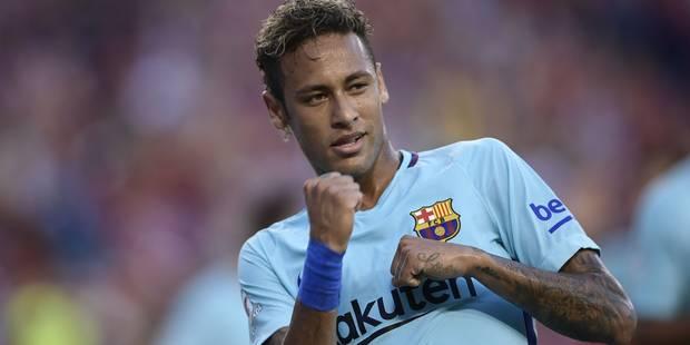 La justice brésilienne clôt l'enquête pour évasion fiscale contre Neymar - La Libre