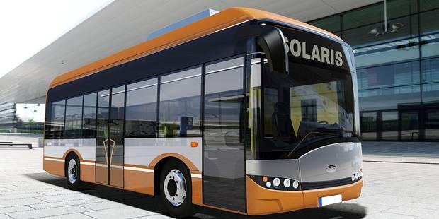 Bruxelles : voici les futurs bus 100 % électriques du centre-ville - La Libre