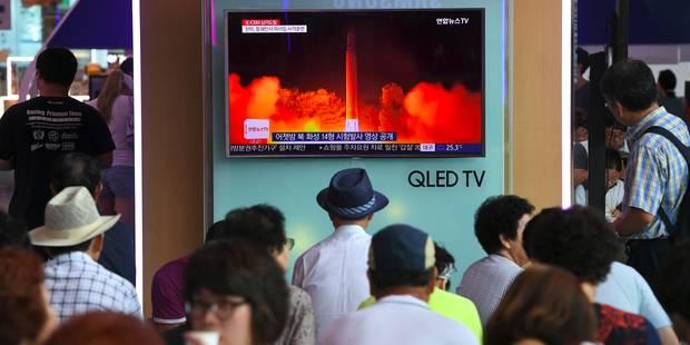 """Test de missile réussi pour la Corée du nord: """"Tout le territoire américain est à notre portée"""" - La Libre"""