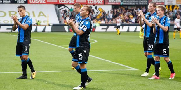 Le Club de Bruges débute en force en écrasant Lokeren (0-4) - La Libre