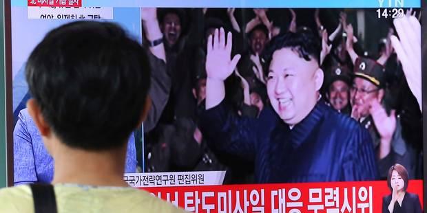 """Corée du Nord: le dernier test de missile, un """"avertissement"""" adressé aux USA - La Libre"""