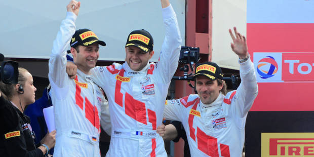 24H de Spa: l'Audi du trio Haase-Gounon-Winkelhock l'emporte ! - La Libre