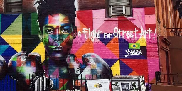 Boudé par les musées, Basquiat séduit la rue - La Libre