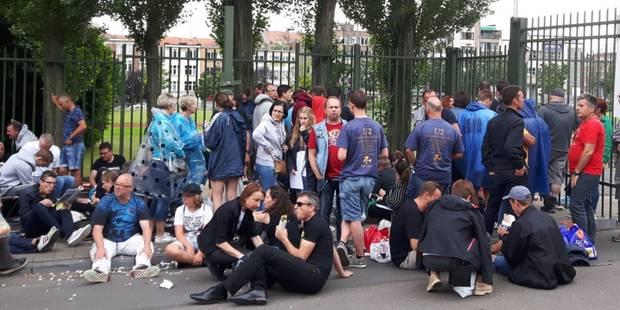 Concert de U2 : Les fans font déjà la file devant le Stade Roi Baudouin - La Libre