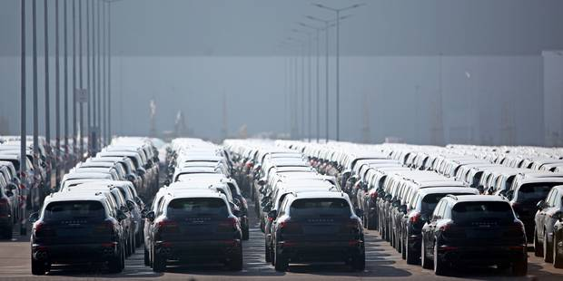 Environ 400 Porsche Cayenne rappelés en Belgique - La Libre
