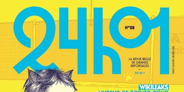 """Il ne manque que 3.000 euros à la revue """"24h01"""" pour assurer sa survie - La Libre"""