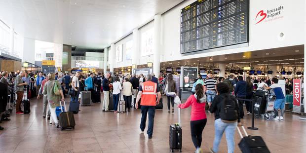 """Brussels Airport augmente son """"supplément sécurité"""" à partir du 1er novembre - La Libre"""