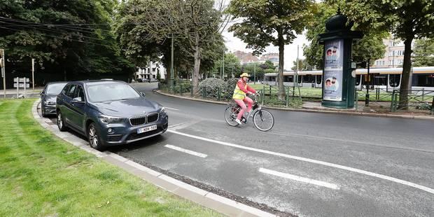 Bruxelles: signalisation chaotique au rond-point Churchill - La Libre