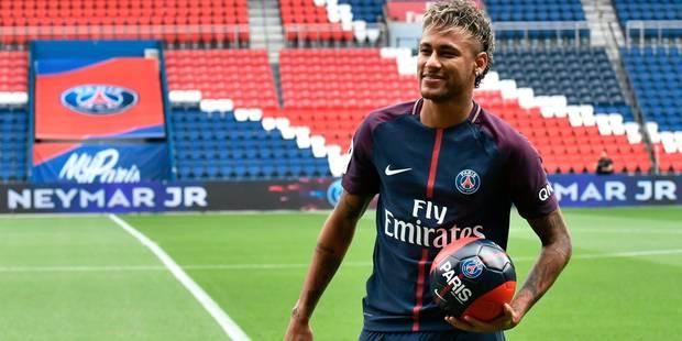 """Neymar présenté par le Paris Saint-Germain: """"Je ne cherche pas à être la grande star du PSG"""" (VIDEOS) - La Libre"""