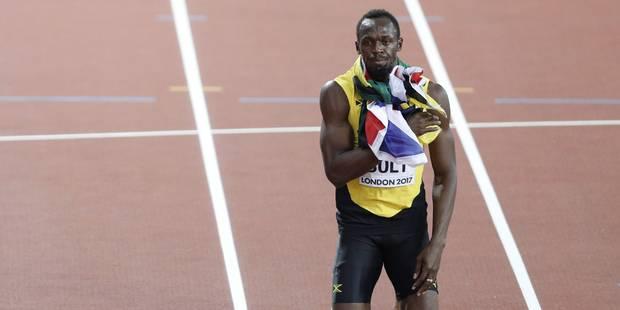 """Usain Bolt, battu en finale du 100m: """"Gatlin mérite d'être là. Il a payé"""" (PHOTOS + VIDÉO) - La Libre"""