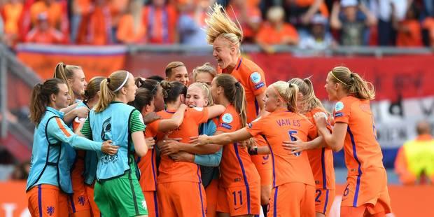 Euro 2017: les Néerlandaises championnes d'Europe à domicile (4-2) - La Libre