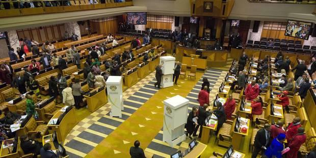 Afrique du Sud: échec de la nouvelle motion de défiance contre Zuma - La Libre