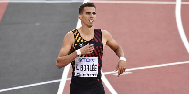 Kevin Borlée tiendra bien sa place dans les séries du 4x400m - La Libre