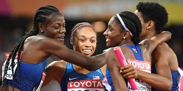 Felix empoche une 16e médaille, Semenya retrouve son titre mondial sur 800m - La Libre