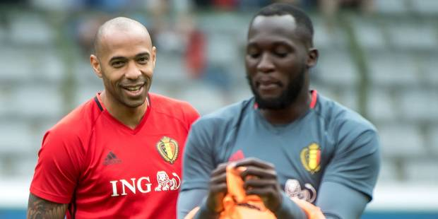 Malgré le doublé de Lukaku, Thierry Henry se montre partagé sur la prestation du Red Devil - La Libre