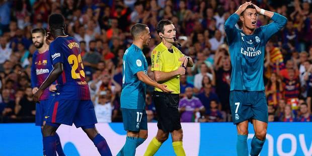 Pour avoir poussé l'arbitre, Cristiano Ronaldo écope d'une lourde sanction (VIDEO) - La Libre