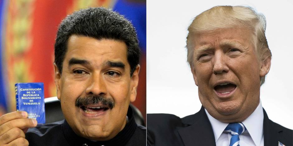 Venezuela: Maduro répond aux menaces de Trump en ordonnant des exercices militaires