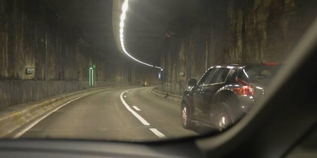 Le tunnel Léopold II à Bruxelles temporairement fermé - La Libre