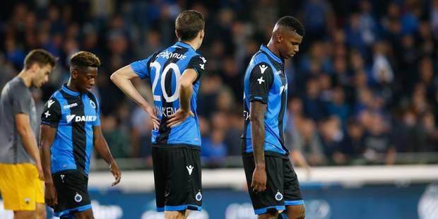 Europa League: le FC Bruges partage face à un AEK réduit à dix durant 30 minutes - La Libre