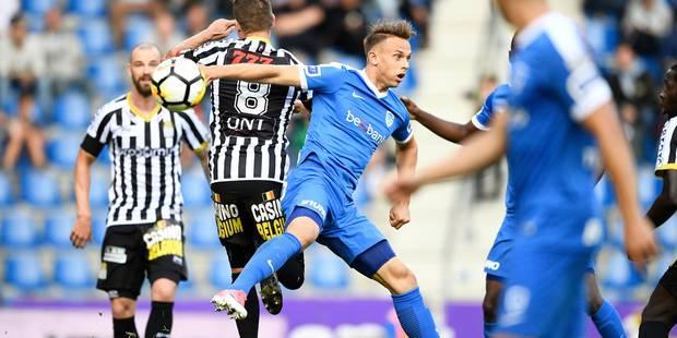 """Mazzù salue """"l'intelligence et la maturité de ses joueurs"""" après la victoire de Charleroi face à Genk (0-1) - La Libre"""