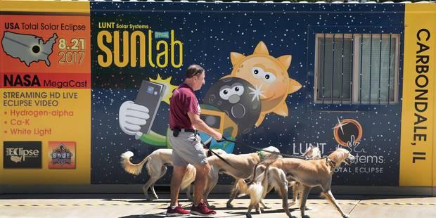 L'éclipse de Soleil de ce lundi, la plus observée de l'histoire - La Libre