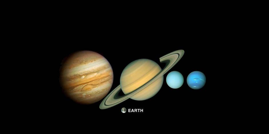 Depuis 40 ans, les sondes Voyager nous en mettent plein la vue (PHOTOS) - La Libre