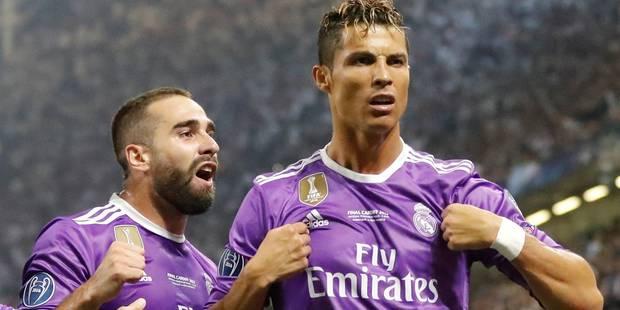 Cristiano Ronaldo élu joueur UEFA de la saison 2016-2017 - La Libre