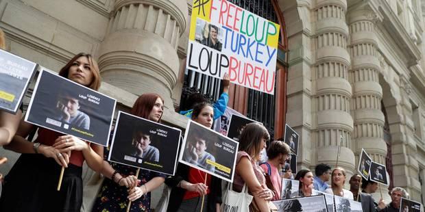 La Belgique accompagne les démarches françaises pour libérer Loup Bureau, détenu en Turquie - La Libre
