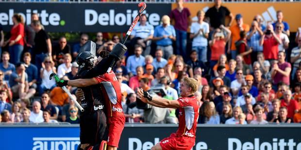 Euro de hockey : La Belgique en finale (2-2; 2-0 shoot-outs) contre les Pays-Bas ! - La Libre
