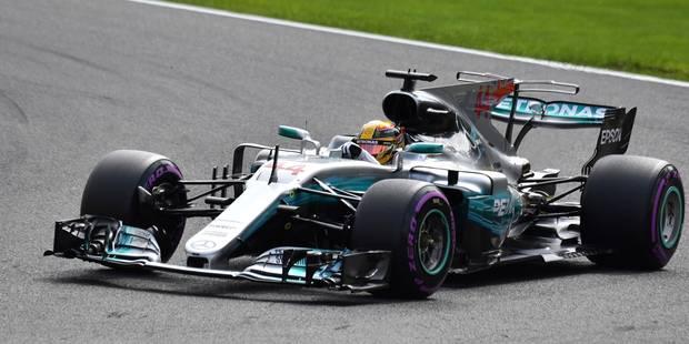 GP de Belgique: Hamilton décroche la pole et rejoint Schumacher ! - La Libre