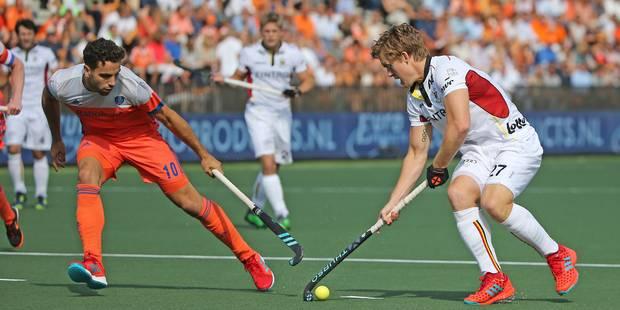 Euro de Hockey : La Belgique s'incline en finale face aux Pays-Bas 4-2 - La Libre