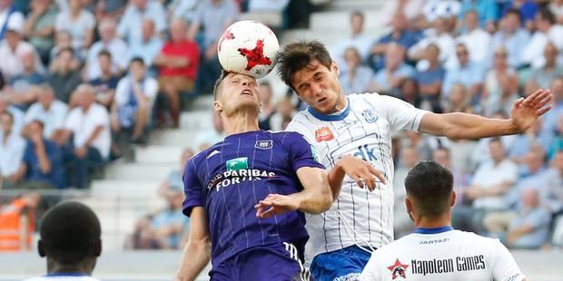 Anderlecht et la Gantoise se neutralisent dans un match fermé (0-0), les deux entraîneurs déçus - La Libre