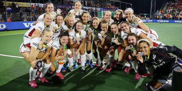 Hockey féminin : l'avenir appartient aux vice-championnes d'Europe - La Libre