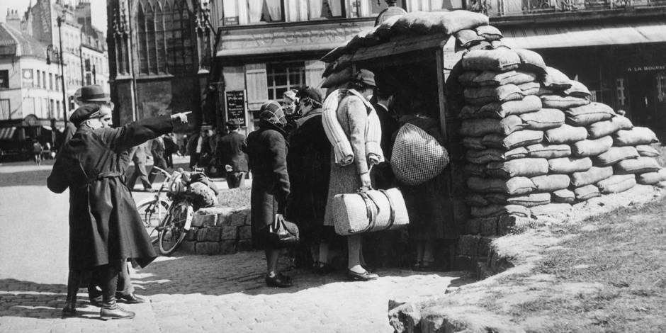 Dunkerque, mai-juin 40, côté civil