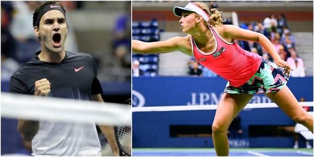 US Open: Federer se fait peur, Mertens prend la porte - La Libre