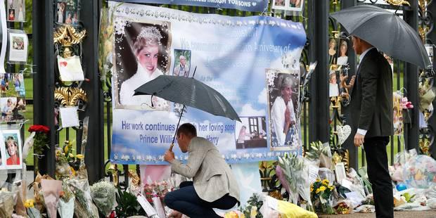 Les fils de Diana rendent un hommage sobre à leur mère - La Libre