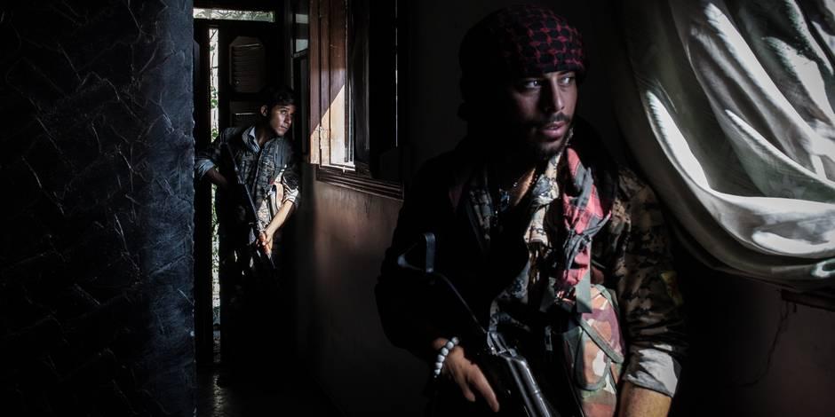 Retour à Raqqa, le fief de l'Etat Islamique (GRAND REPORTAGE)