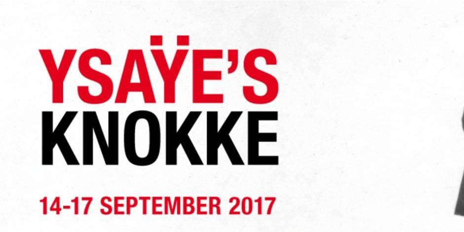 Concours réservé aux abonnés : La Libre vous invite à assister à YSAYE'S KNOKKE - La Libre