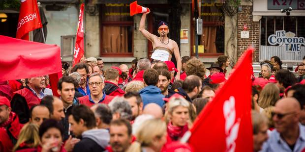 La CGSP appelle ses affiliés des services publics à une journée de grève le 10 octobre - La Libre