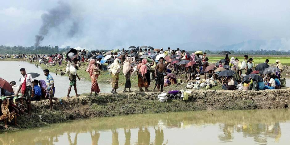 Les Rohingyas confrontés à un nettoyage ethnique - La Libre
